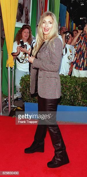 Arrival of actress Heather Thomas
