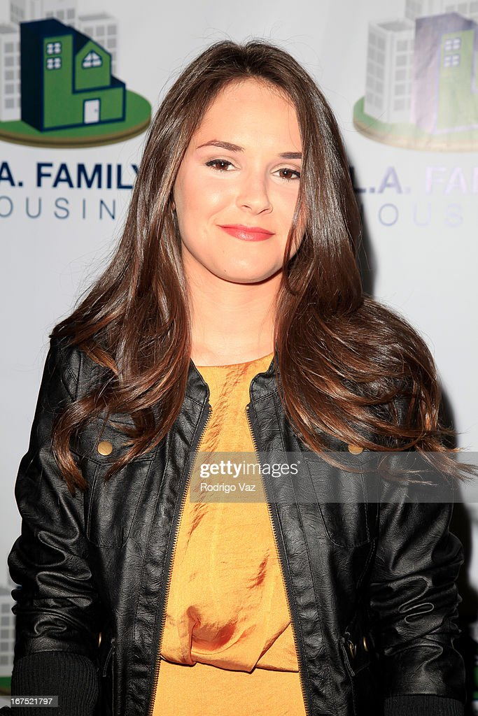 arrive at the L.A. Family Housing Awards 2013 at Book Bindery on April 25, 2013 in Culver City, California.