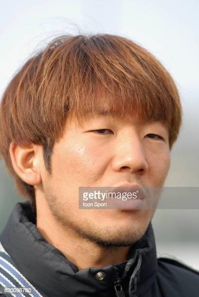 Arrivee de Masashi OGURO a Grenoble Conference de presse au GF 38