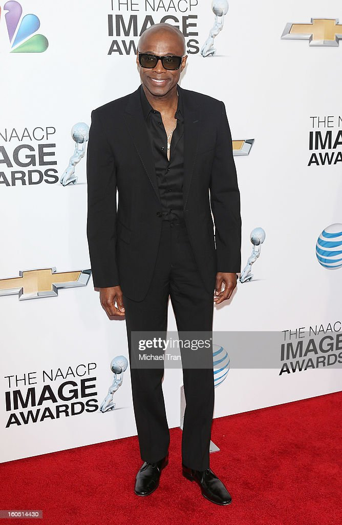 KEM arrives at the 44th NAACP Image Awards held at The Shrine Auditorium on February 1, 2013 in Los Angeles, California.
