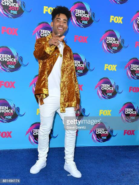 KYLE arrives at the Teen Choice Awards 2017 at Galen Center on August 13 2017 in Los Angeles California