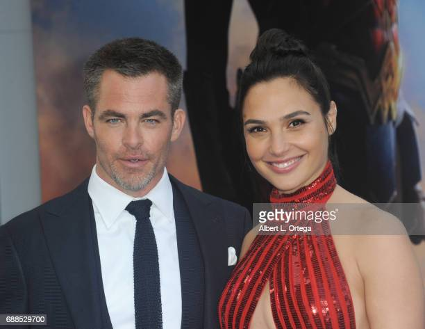arrives for the Premiere Of Warner Bros Pictures' 'Wonder Woman' held at the Pantages Theatre on May 25 2017 in Hollywood California
