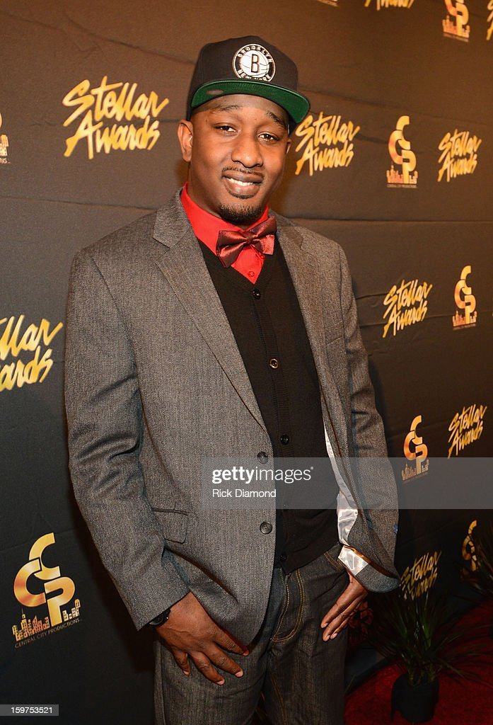 JSON arrives to the 28th Annual Stellar Awards Red Carpet at Grand Ole Opry House on January 19, 2013 in Nashville, Tennessee.