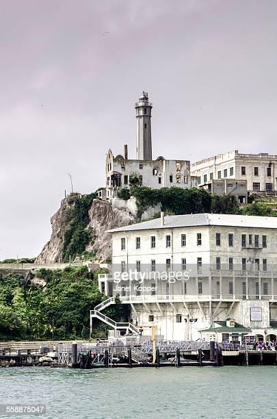 Arriving at Alcatraz