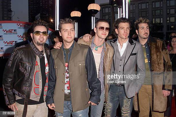 *NSYNC arriving at the 2001 MTV Video Music Awards held at the Metropolitan Opera House at Lincoln Center in New York City 9/6/01 Photo by Evan...