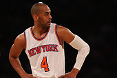 Arron Afflalo of the New York Knicks in action against the Orlando Magic at Madison Square Garden on February 26 2016 in New York City NOTE TO USER...