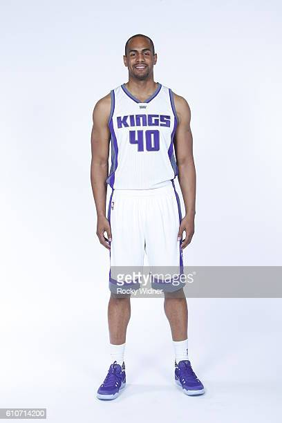 Arron Afflalo of the Sacramento Kings poses for a portrait on NBA media day on September 26 2016 at the Kings practice facility in Sacramento...