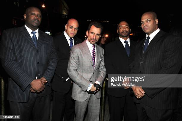 Arron Hooper Roberto Morban Wass Stevens Frtiz Joesph and Julian Morton attend NIGHT AT AVENUE at Avenue on March 18 2010 in New York City