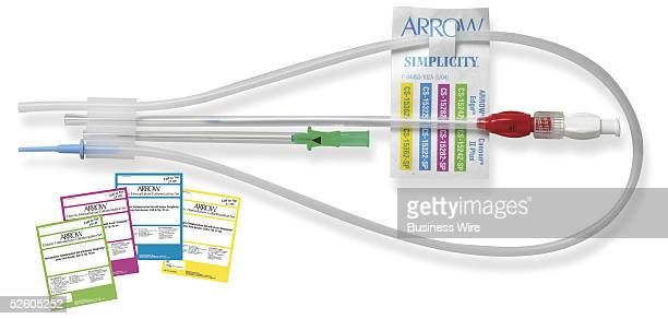 Arrow International Inc the leading global provider of central venous catheter products introduces the Arrow Simplicity MicroPuncture Introducer Set...