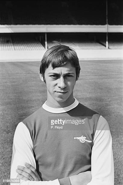 Arsenal FC forward Charlie George 26th August 1969