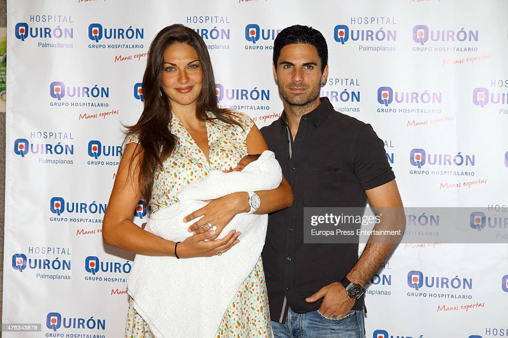 Mikel Arteta and Lorena Bernal Present New Baby Born Oliver