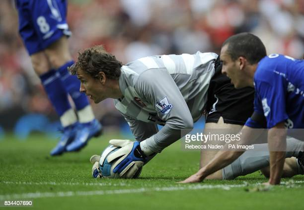 Arsenal goalkeeper Jens Lehmann in action