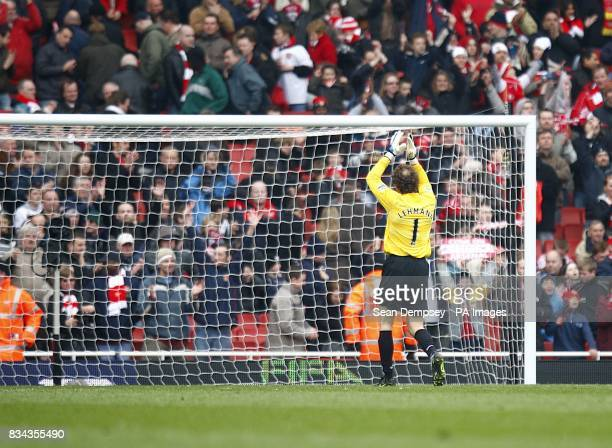 Arsenal goalkeeper Jens Lehmann