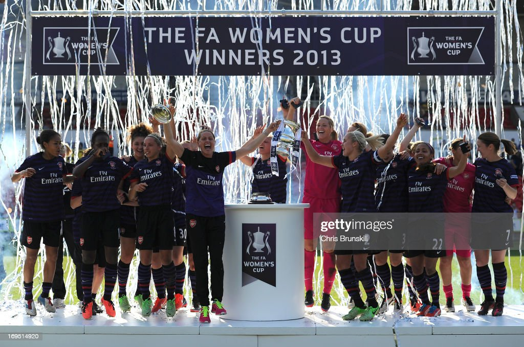Bristol Academy Women's FC v Arsenal Ladies FC - The FA Women's Cup Final