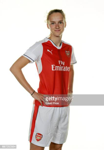 Arsenal Ladies latest signing Vivianne Miedema at London Colney on May 23 2017 in St Albans England