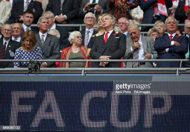 Arsenal majority owner Stan Kroenke during the Emirates FA Cup Final at Wembley Stadium London