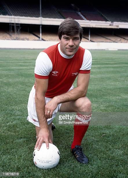 Arsenal striker Malcolm MacDonald at Highbury August 1978