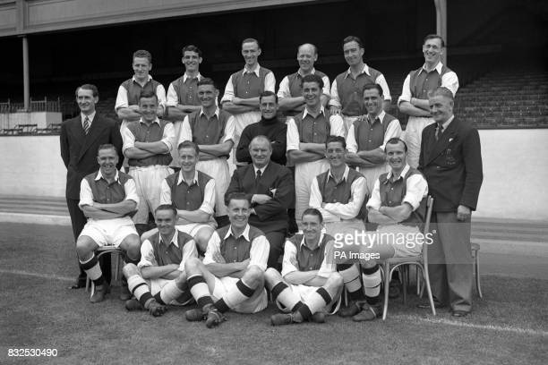 Alex Forbes Joe Wade Les Smith George Male Denis Compton Joe Mercer Jack Crayston Reg Lewis Alf Fields George Swindin Les Compton Ian McPherson...