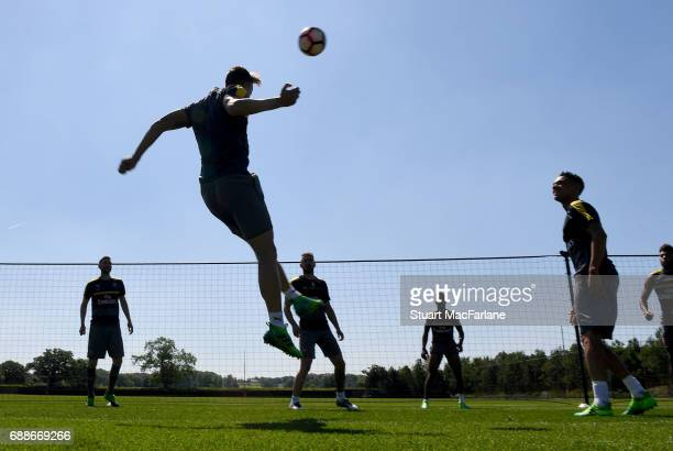 Arsenal training session at London Colney on May 26 2017 in St Albans England