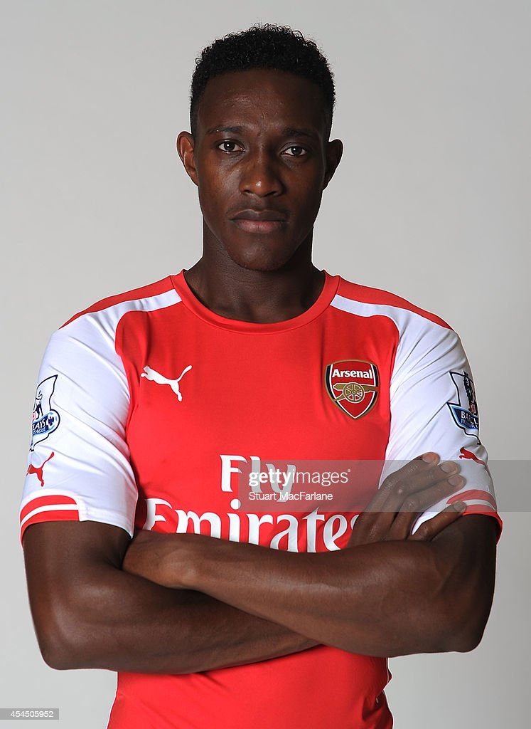 Arsenal unveil new signing Danny Welbeck at London Colney on September 2 2014 in St Albans England