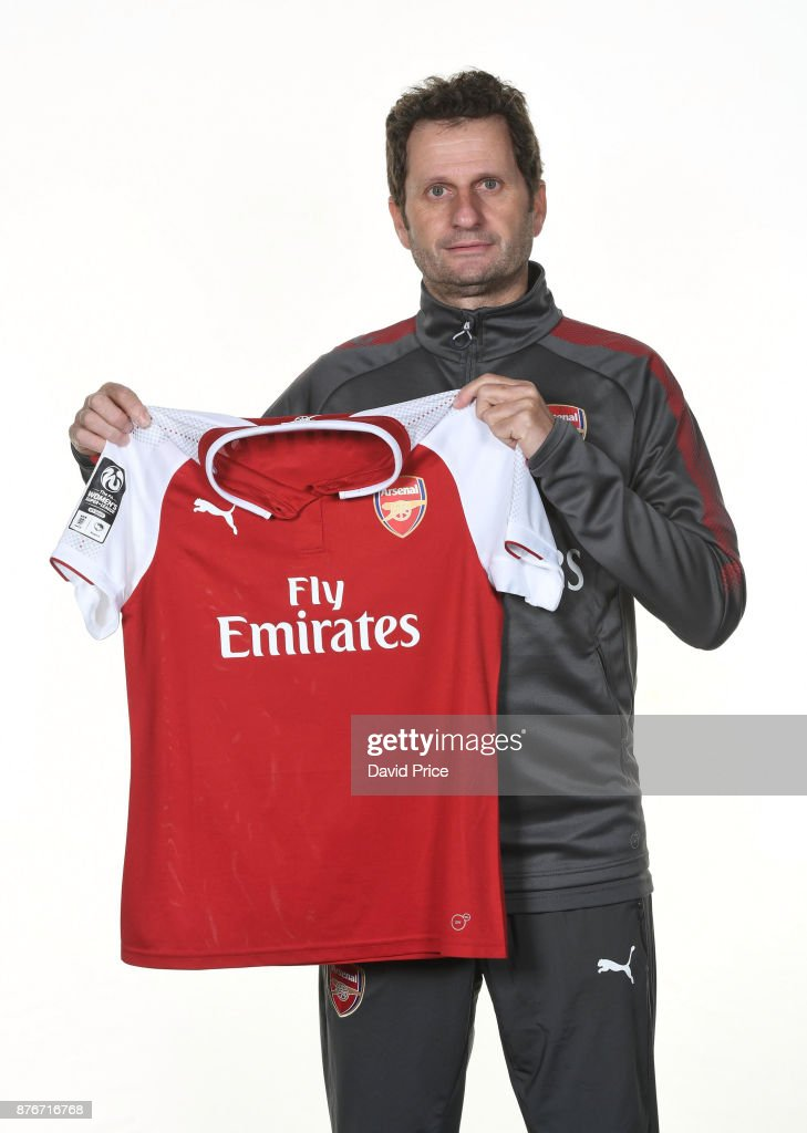 Arsenal Womens Manager Joe Montemurro Photocall