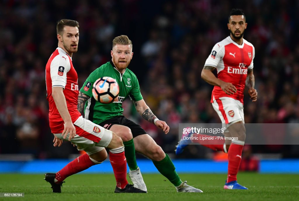 Arsenal v Lincoln City - Emirates FA Cup - Quarter Final - Emirates Stadium : News Photo