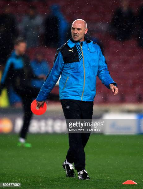 Arsenal's assistant manager Steve Bould
