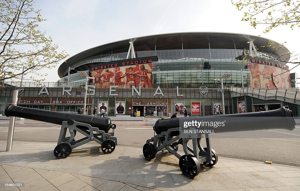Arsenal's Emirates Stadium is pictured in London on April 11 2011 US sports tycoon Stan Kroenke has taken a controlling stake in Arsenal and has...