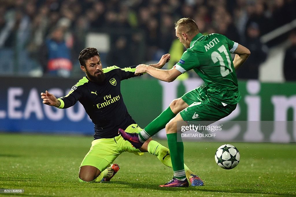 FBL-EUR-C1-LUDOGORETS-ARSENAL : News Photo