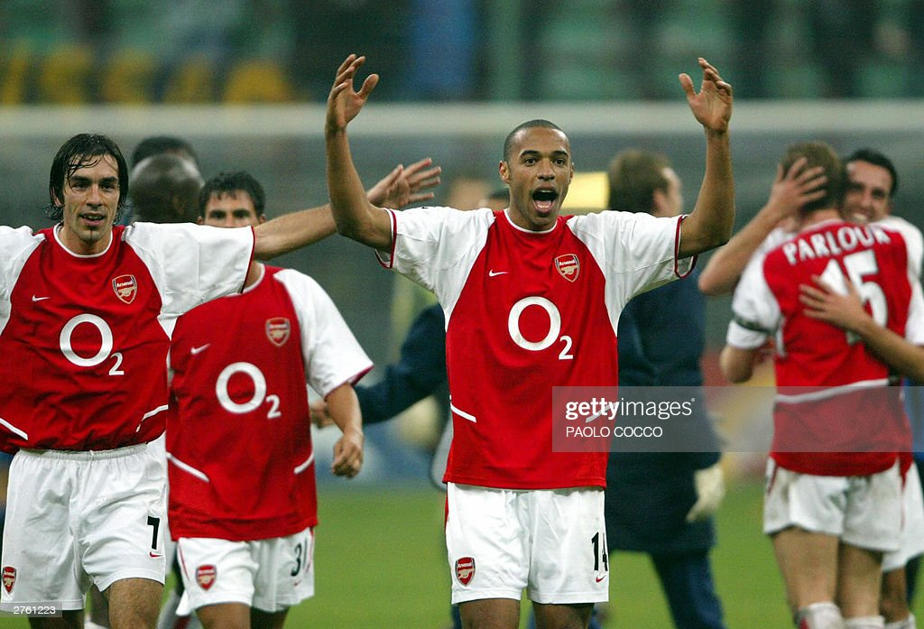 Arsenal's French forward Thierry Henry ( : News Photo