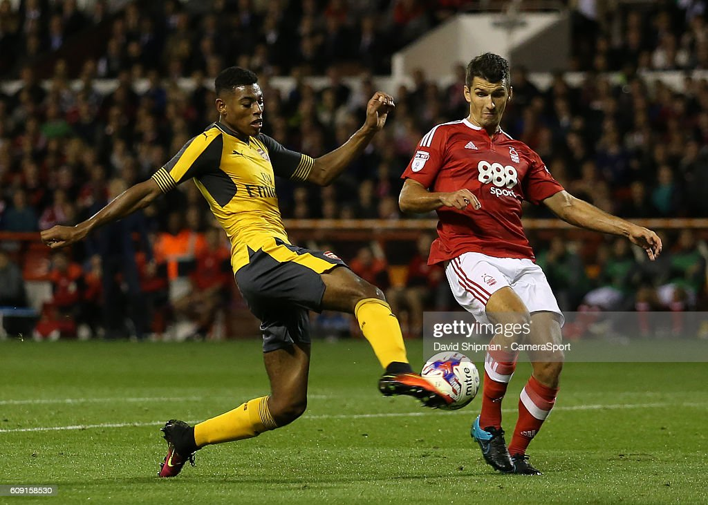 Nottingham Forest v Arsenal - EFL Cup Third Round