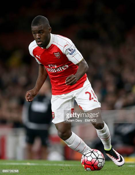 Arsenal's Joel Campbell in action