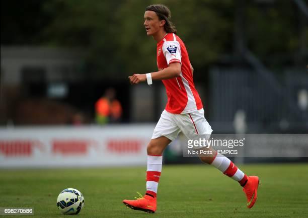 Arsenal's Kristoffer Olsson