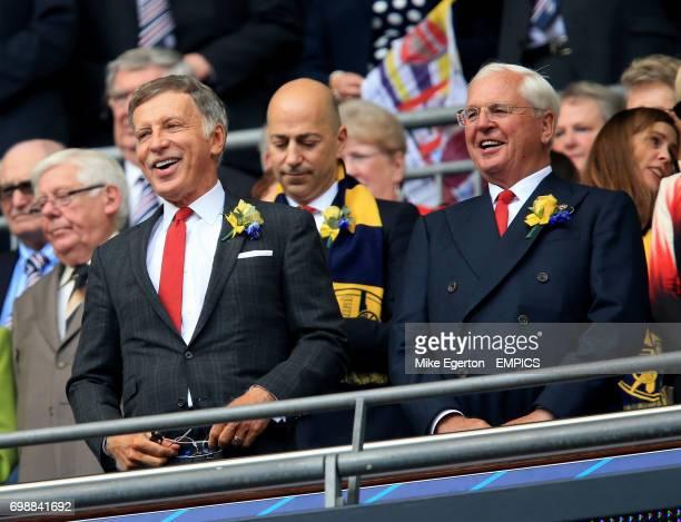 Arsenal's majority shareholder Stan Kroenke in the stands