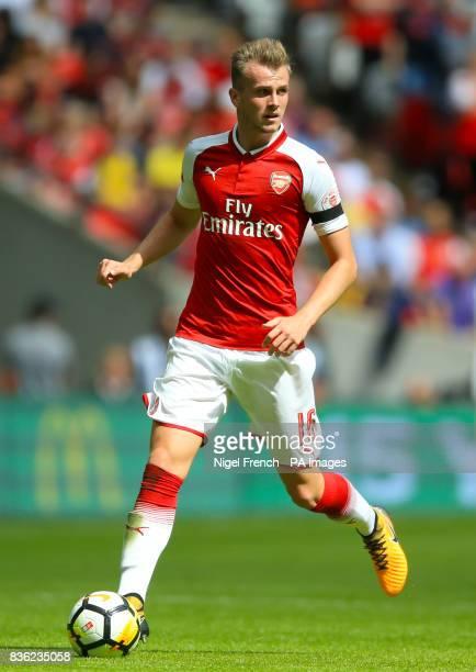 Arsenal's Rob Holding