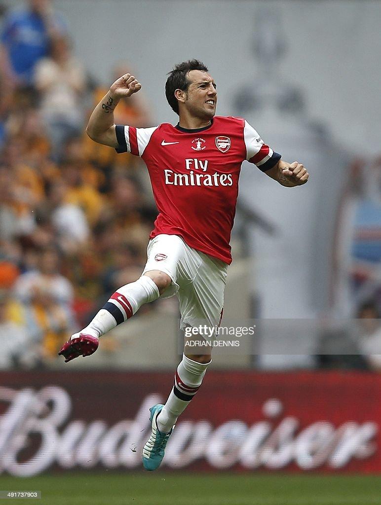 Arsenal s Spanish midf...