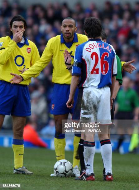 Arsenal's Thierry Henry shrugs his shoulders