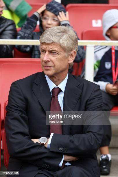 Arsene WENGER Arsenal / Atletico de Madrid Emirates Cup