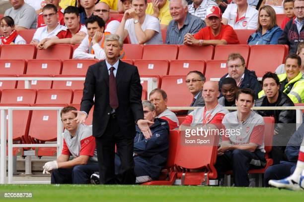 Arsene WENGER Arsenal / Atletico Madrid Emirats Cup Emirats Stadium Londres