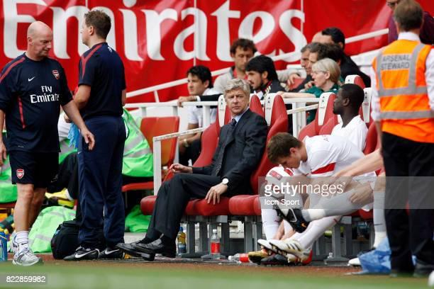 Arsene WENGER Celtic Glasgow / Arsenal Tournoi Emirates 2010 Emirates Stadium Londres