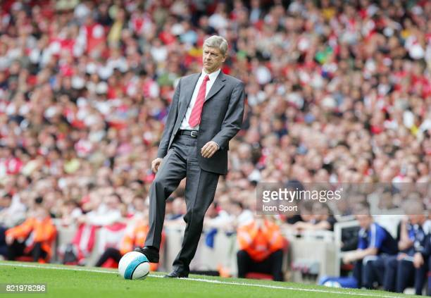 Arsene WENGER Arsenal / Everton 37eme journee de Premier League