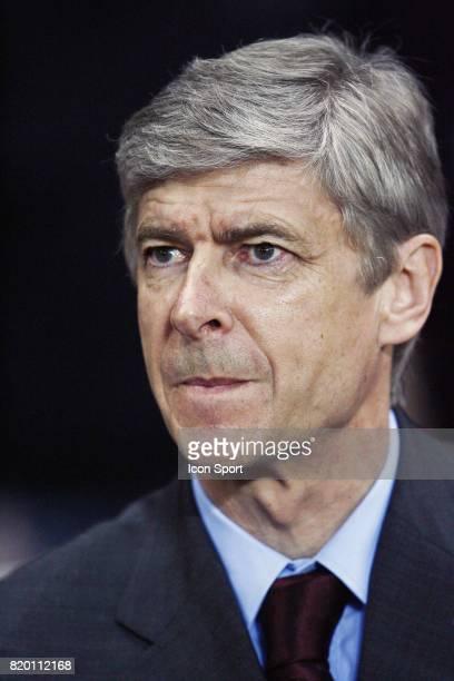 Arsene WENGER Arsenal / Psv eindhoven 8e de finale Champions League
