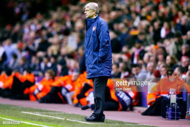 Arsene WENGER Liverpool / arsenal 1/4 Finale Champions League 2007/2008