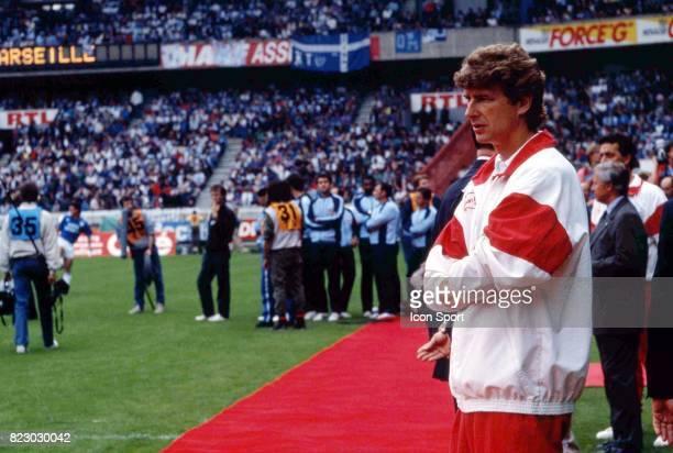 Arsene Wenger Marseille / Monaco Finale de la Coupe de France Parc des Prince