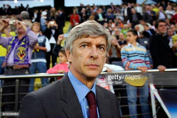 Arsene WENGER Villarreal / Arsenal 1/2 finale retour de Champions League