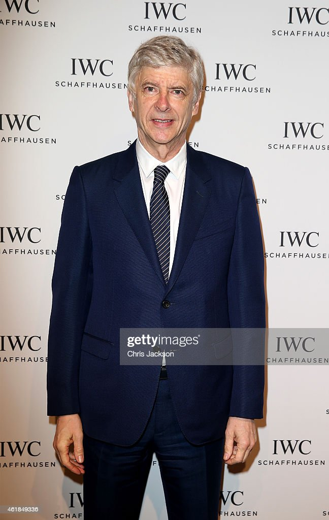 Arsene Wenger attends the IWC Gala Dinner during the Salon International de la Haute Horlogerie (SIHH) 2015 at the Palexpo on January 20, 2015 in Geneva, Switzerland.