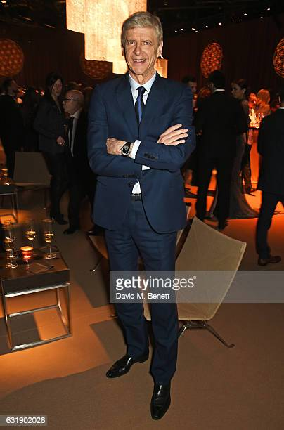 Arsene Wenger attends the IWC Schaffhausen 'Decoding the Beauty of Time' Gala Dinner during the launch of the Da Vinci Novelties from the Swiss...