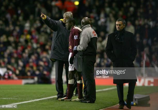 Arsene WENGER / Jose MOURINHO Arsenal / Chelsea 17eme journee de Premier League