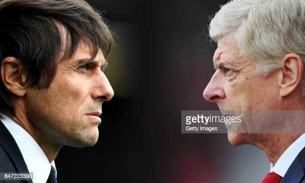 GRADIENT ADDED COMPOSITE OF TWO IMAGES Image numbers 675114354 and 835537244 In this composite image a comparison has been made between Antonio Conte...