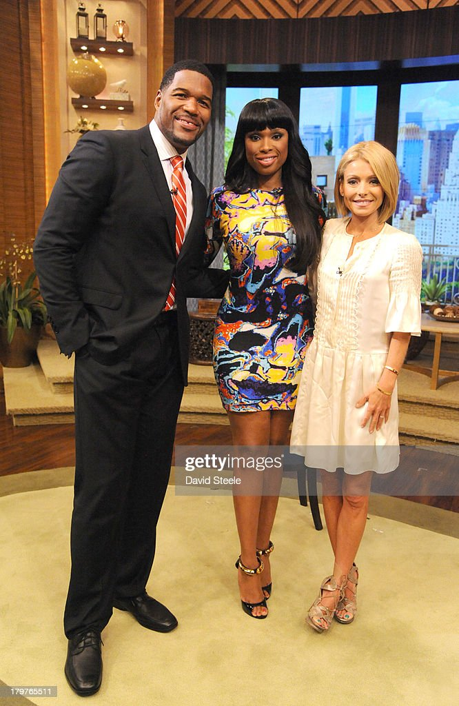 MICHAEL -9/5/13 - Arsenio Hall and Jennifer Hudson are guests on 'LIVE with Kelly and Michael,' distributed by Disney-ABC Domestic Television. MICHAEL